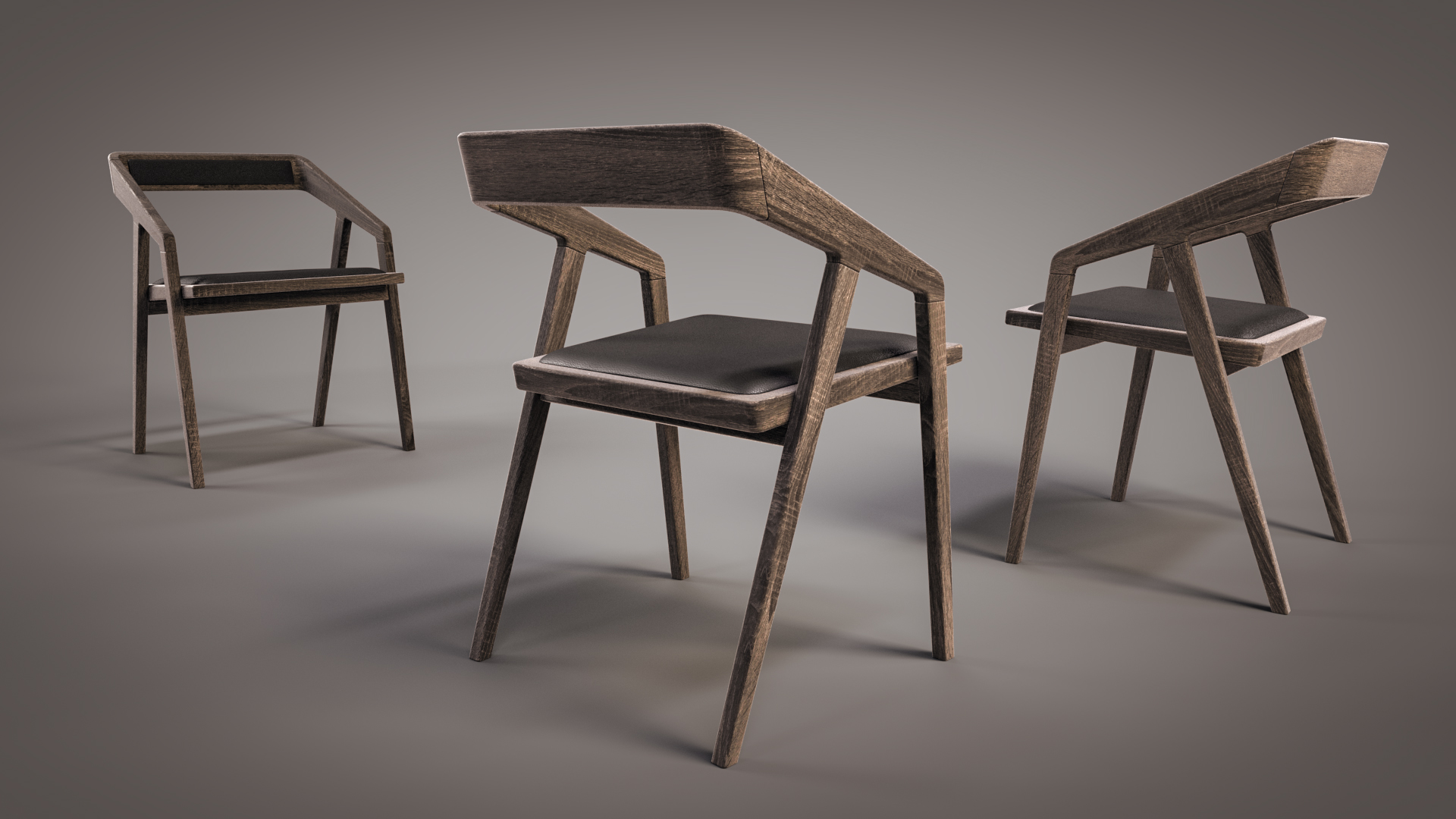 Katakana Chair Flyingarchitecture