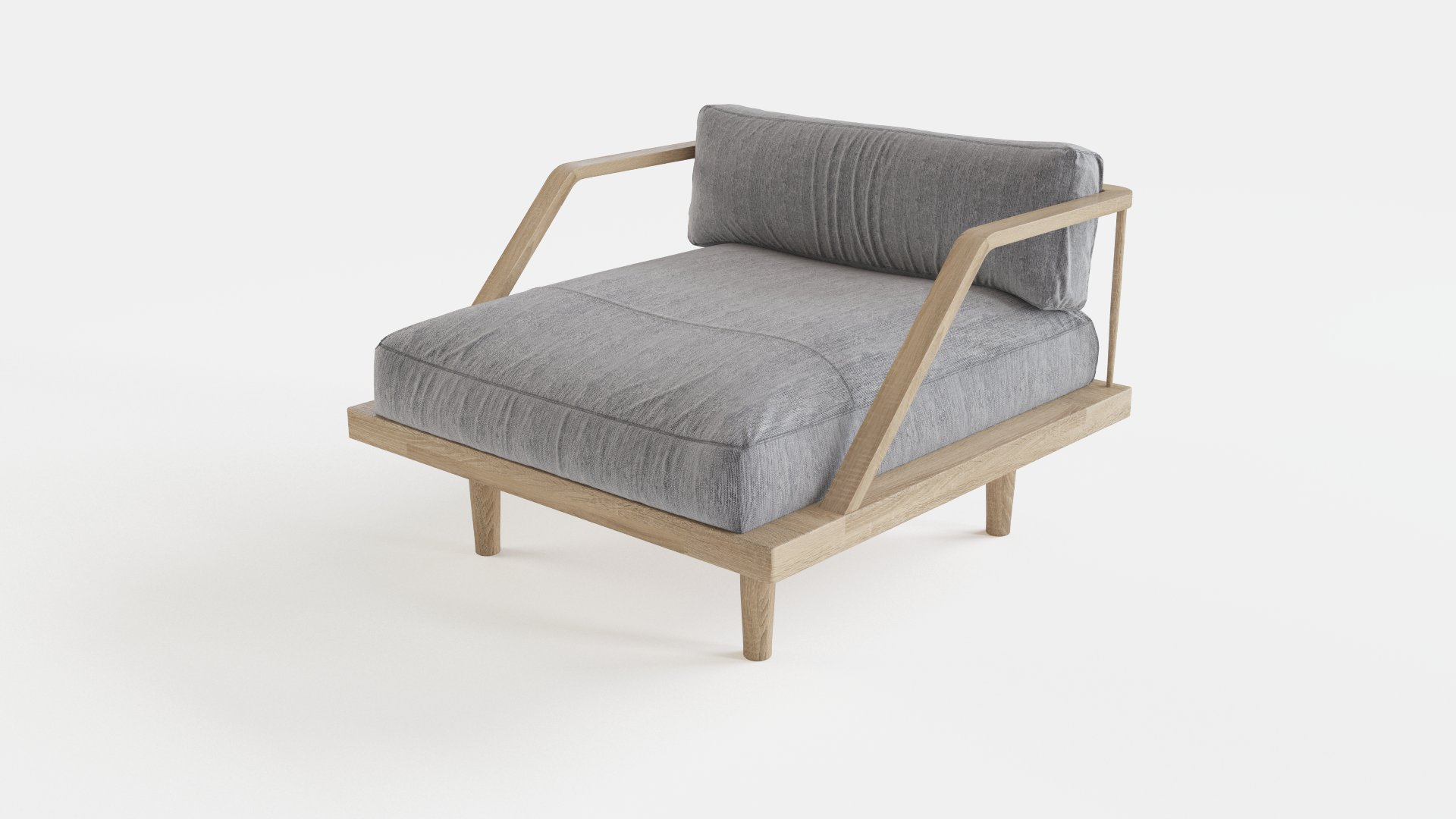 Scandinavian design armchair   FlyingArchitecture