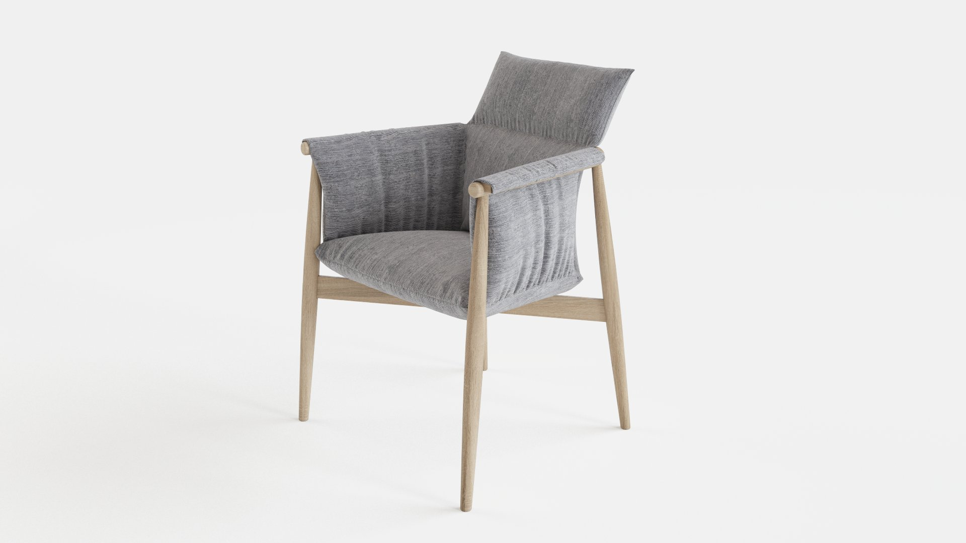 Scandinavian Embrace Chair