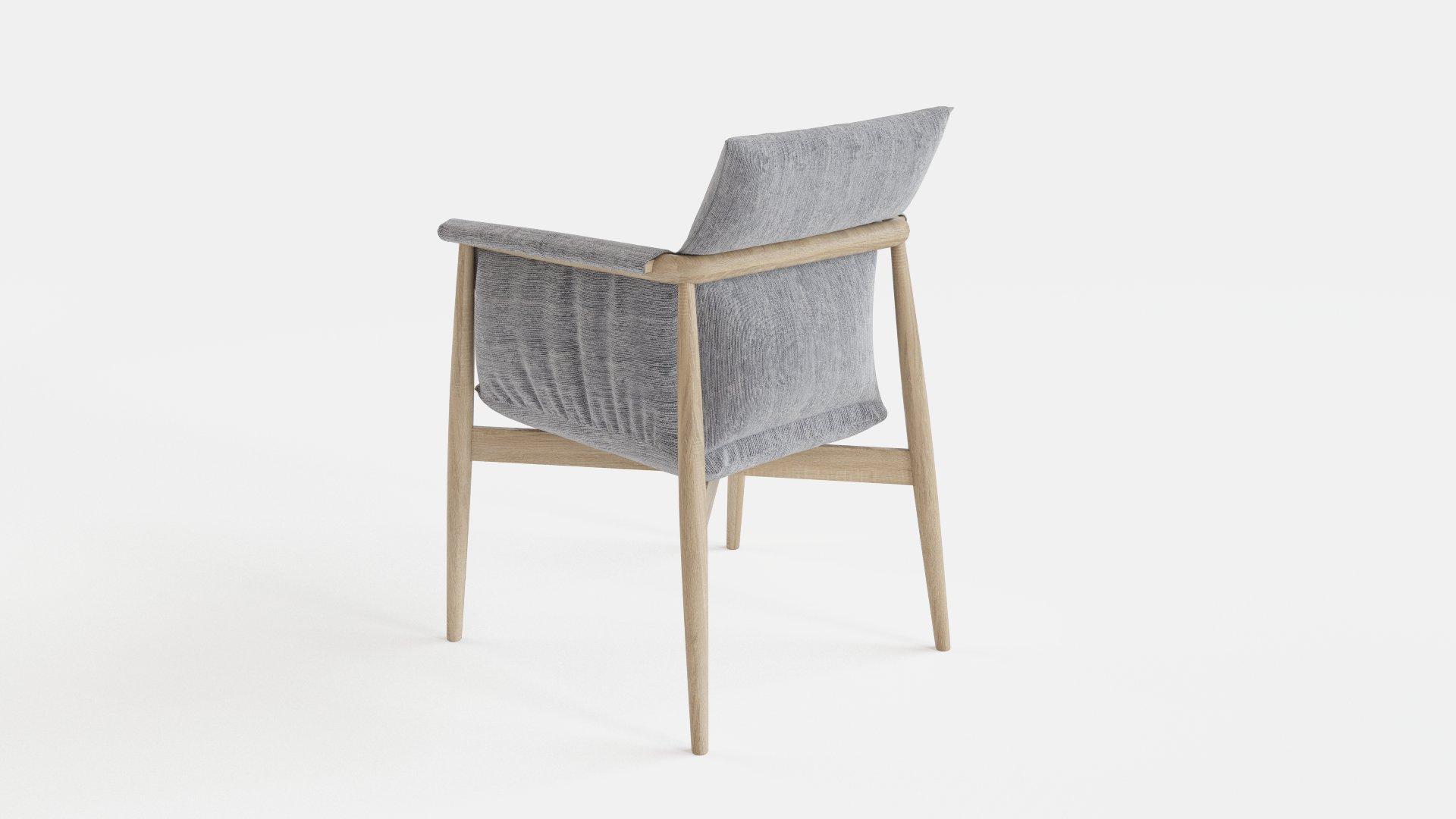 Scandinavian Embrace Chair