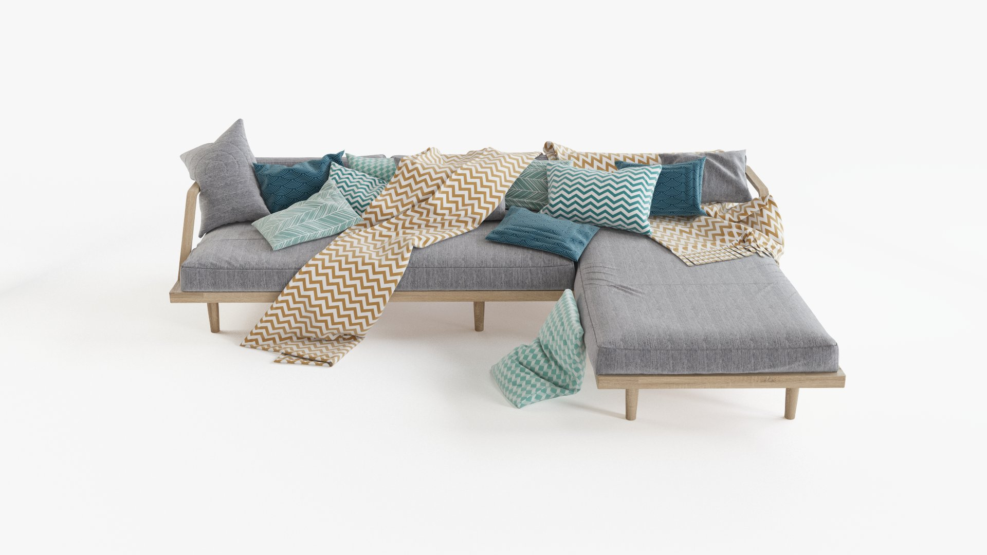 Scandinavian design sofa
