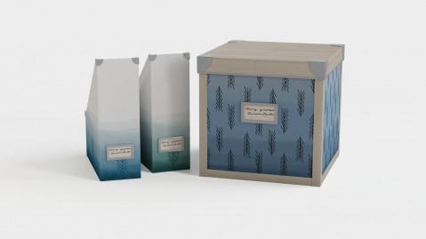 Files and storage box