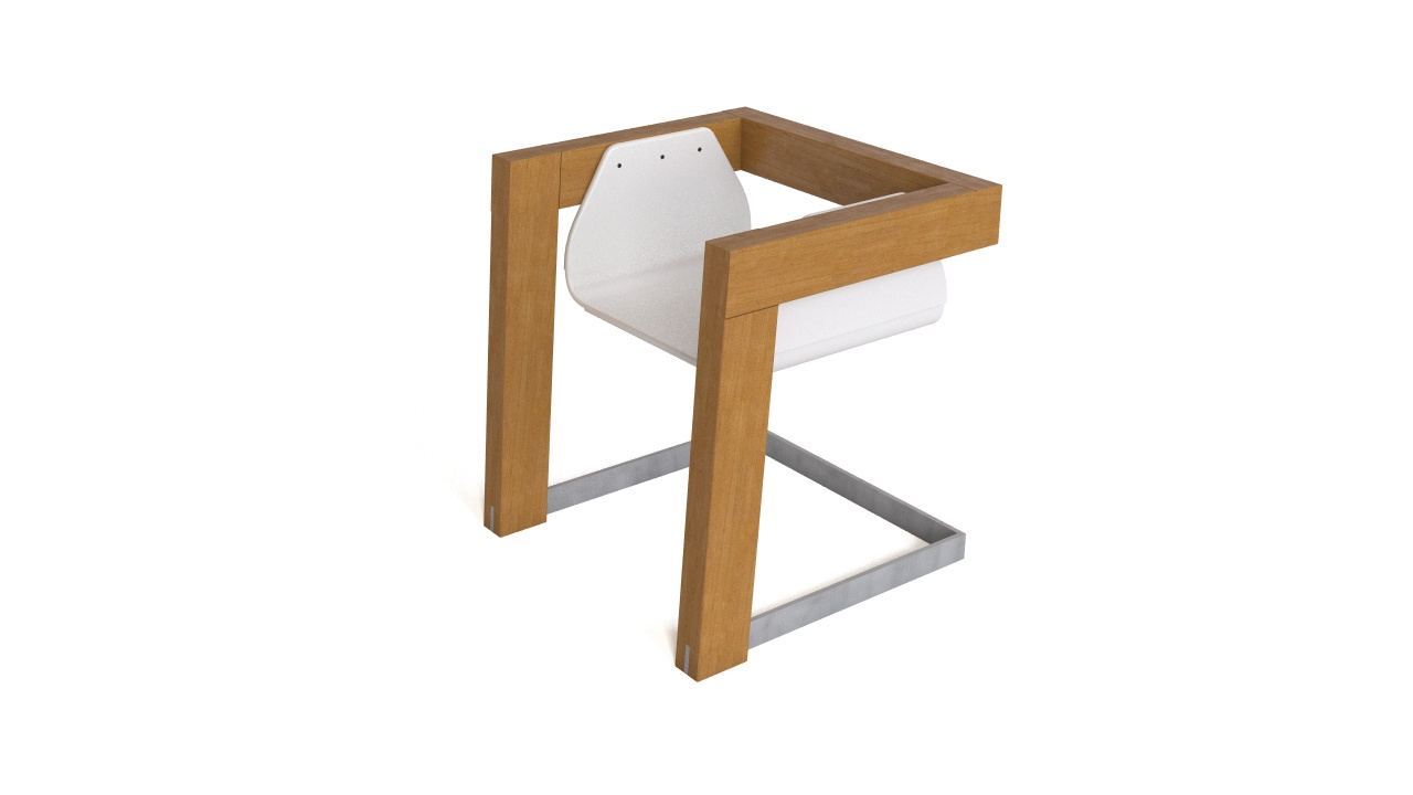 Dit sit free modern chair 3d model