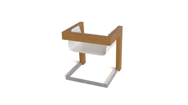 DIT - sit - free modern chair 3D model