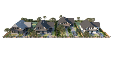 Residential pack - Traditional houses - Vol. 1