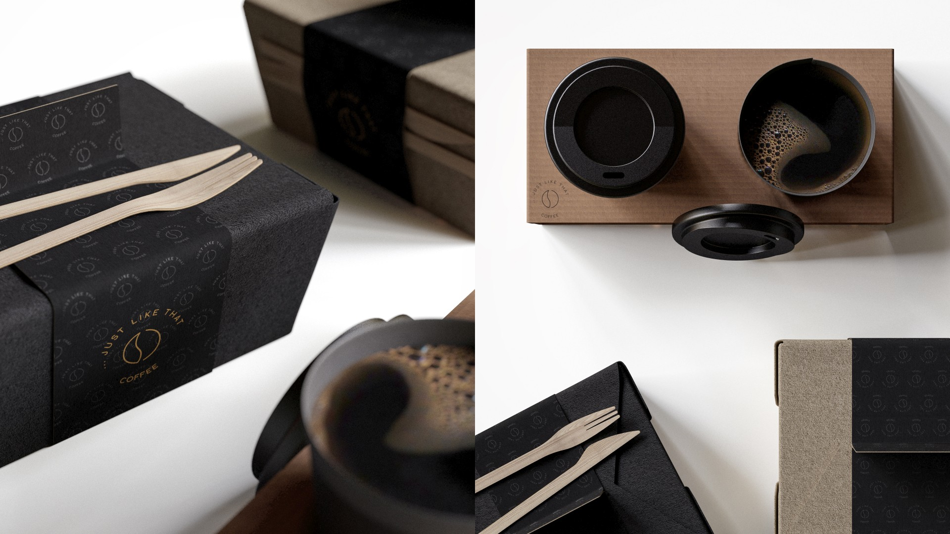 Just Like That Coffee and Lunchbox | FlyingArchitecture