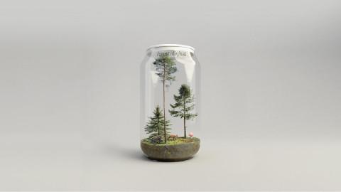 forest/digital Trees vol. 4 - Conifers