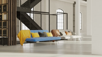 Berlin Loft sofa
