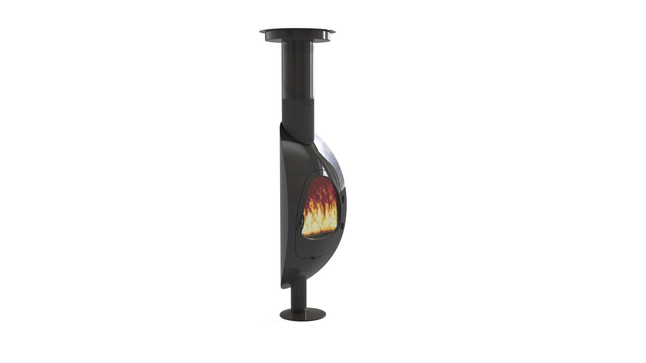 Arkaine Yoni fireplace