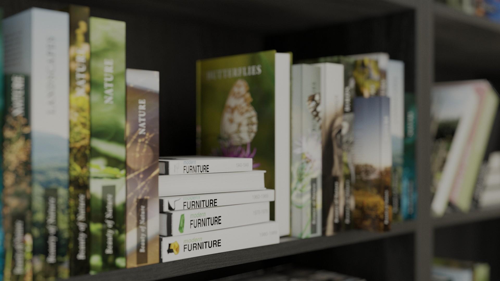 90 various book models