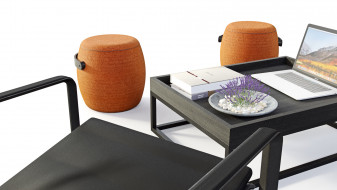 Neutra Outdoor Chair by TRIBÚ