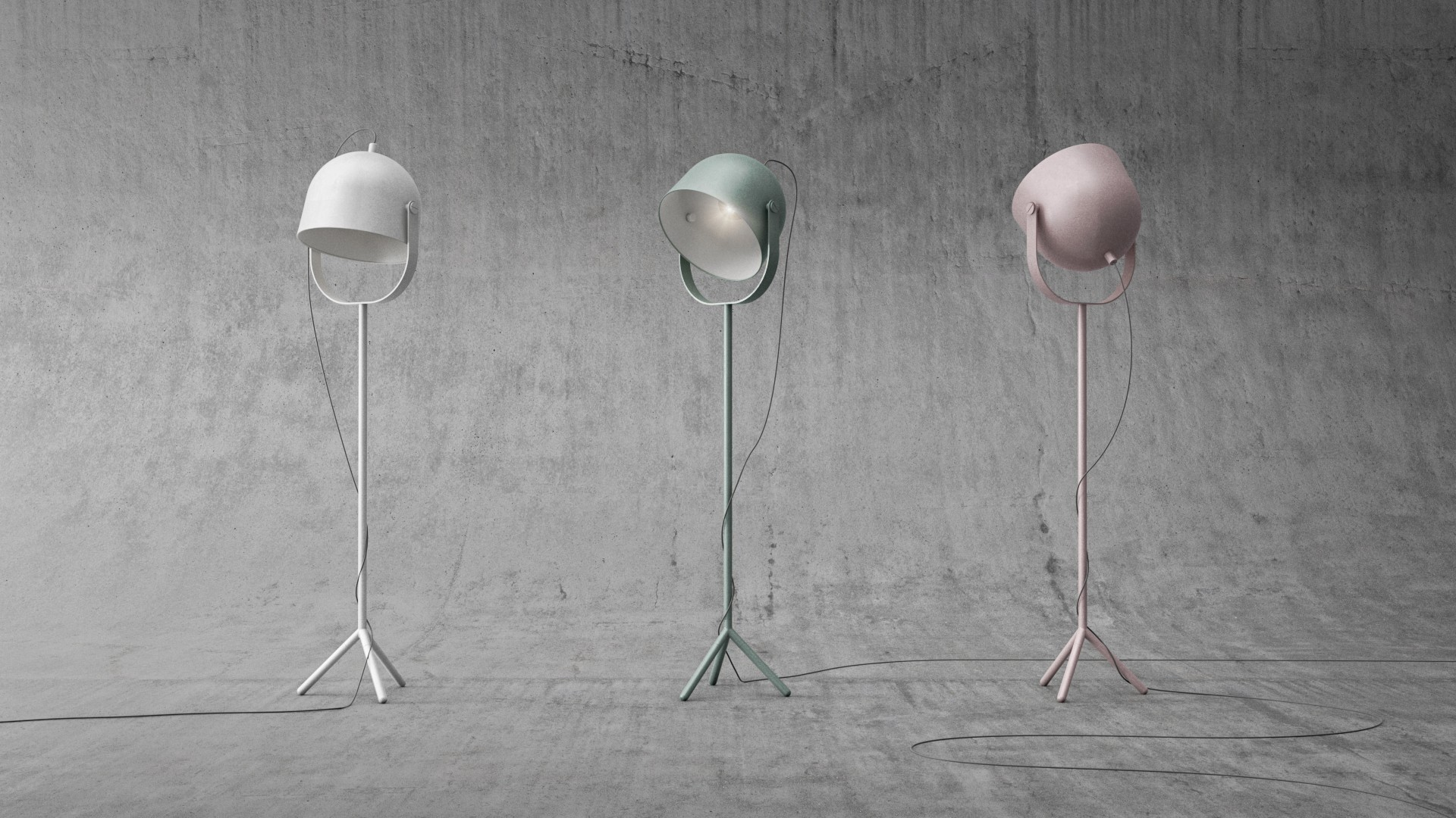 Monty Lamp Set by FLEXA