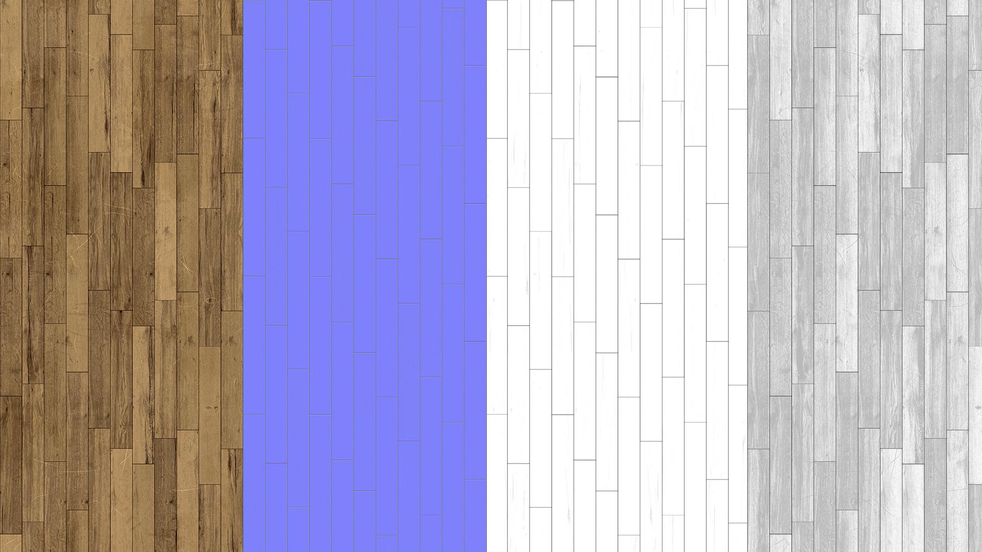 Oak vintage planks