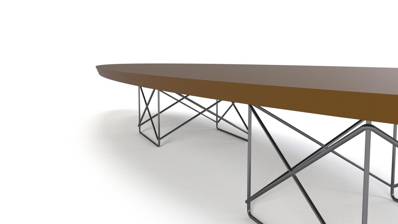 Superieur Eames   Elliptical Table ETR   1951