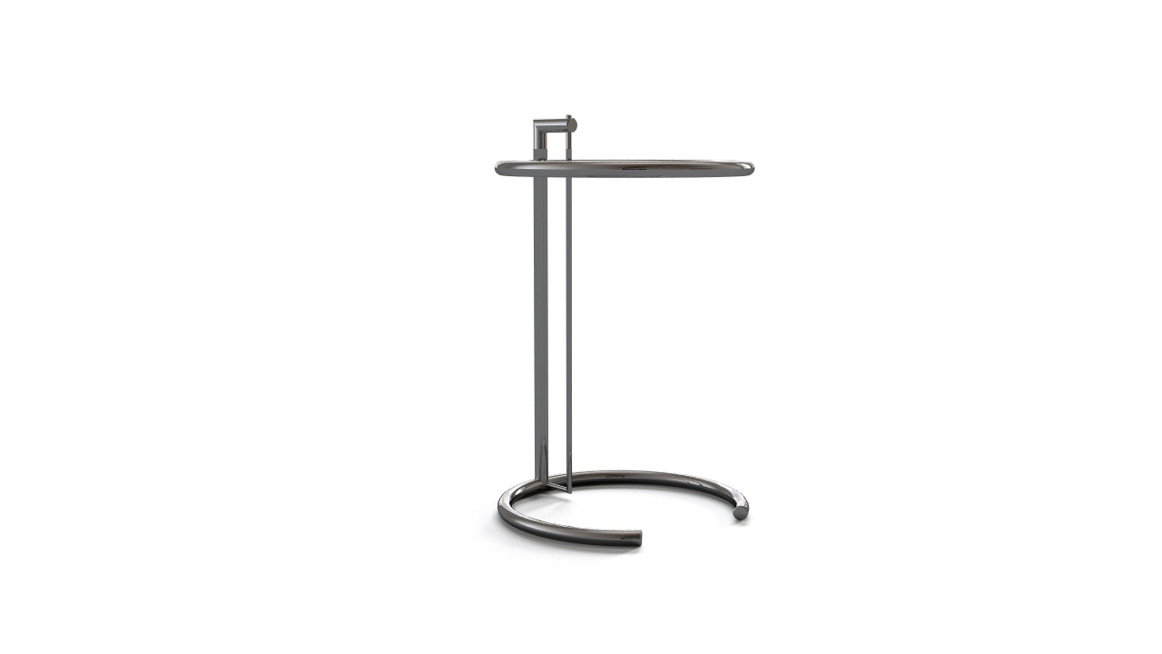 eileen gray adjustable table e1027 flyingarchitecture. Black Bedroom Furniture Sets. Home Design Ideas