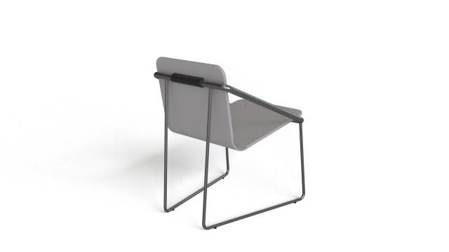 FET - cadira free 3D chair model