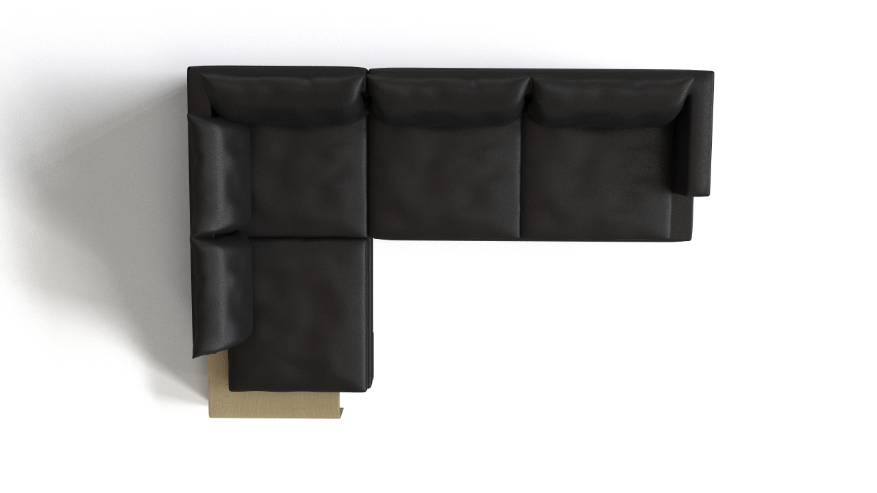 Flexform - Long Island Corner Sofa | FlyingArchitecture