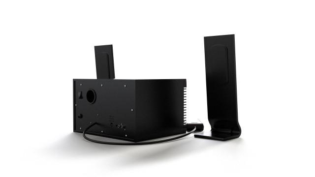 Genius speakers, 2.1 audio system