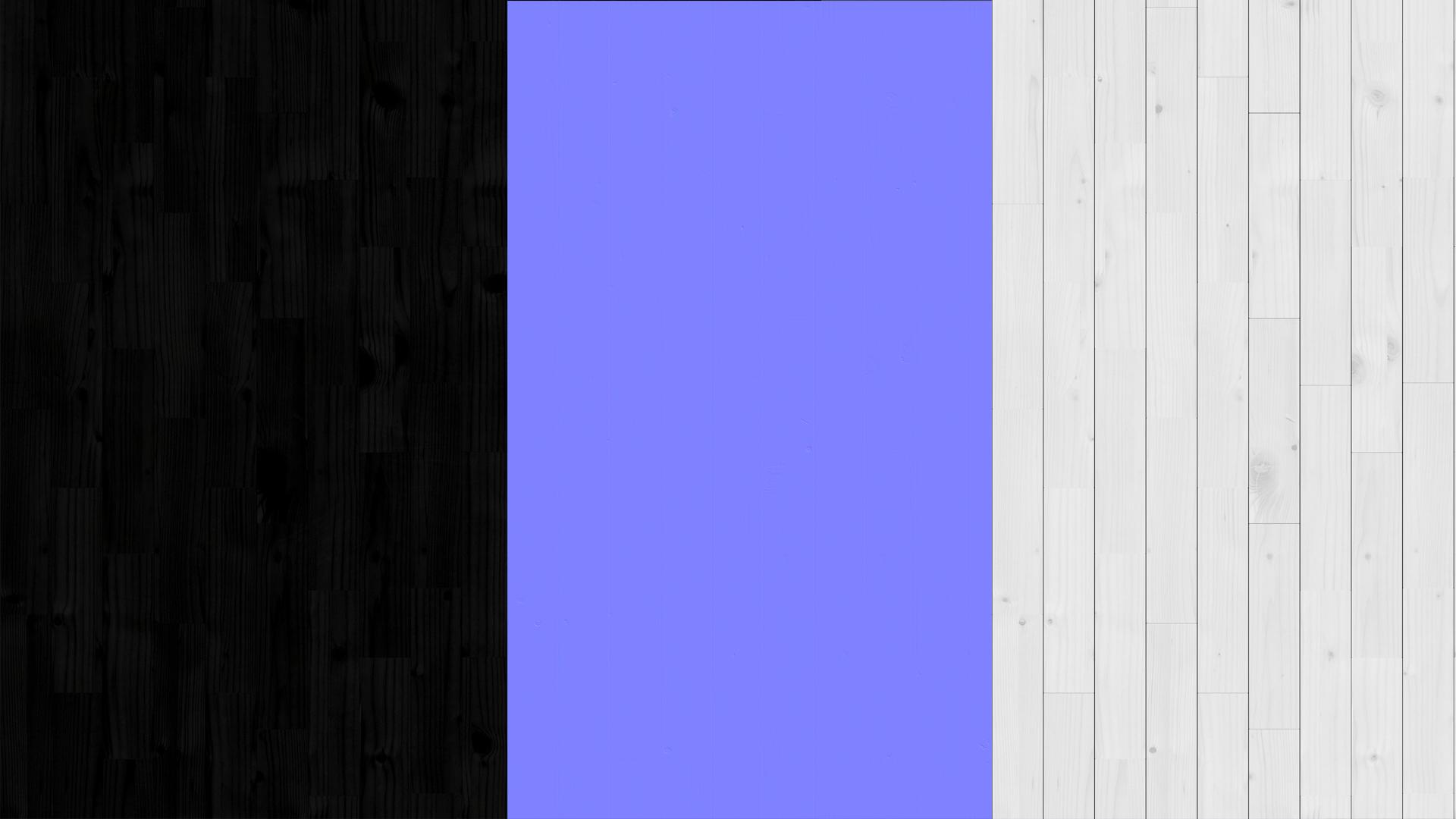 Black spruce planks