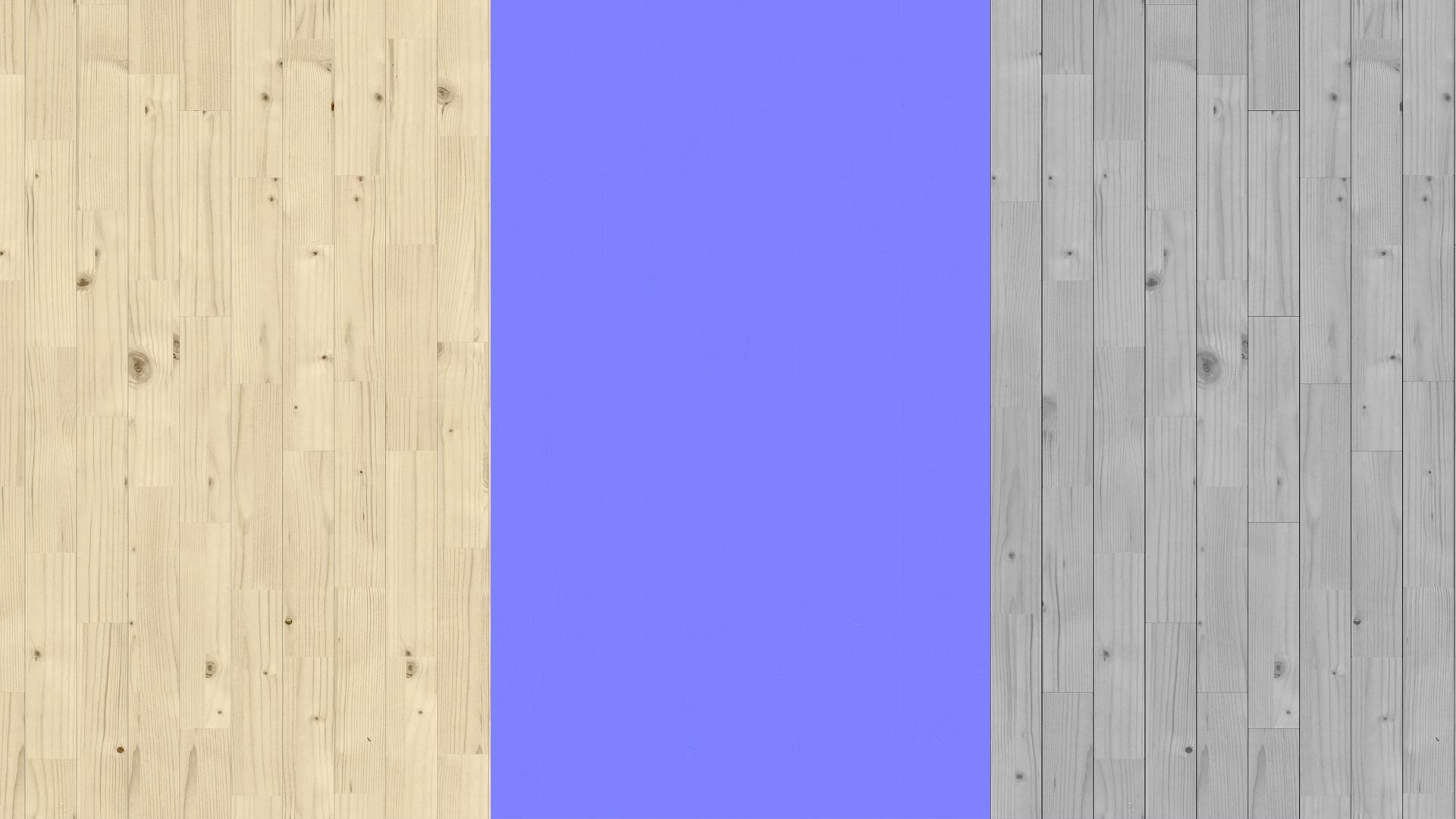 Natural spruce planks