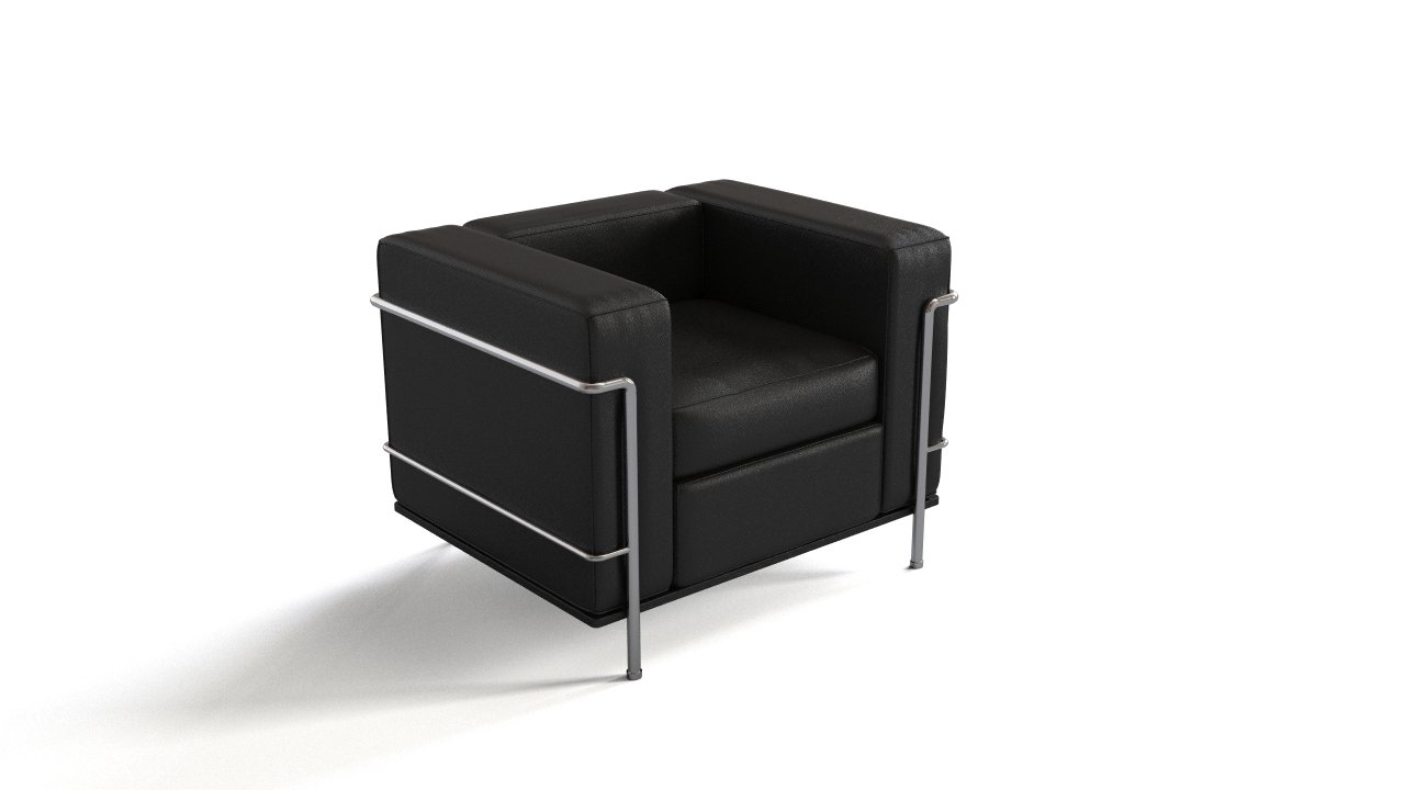 Le corbusier s armchair flyingarchitecture