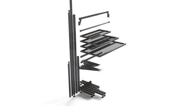 IKEA Broder wall system