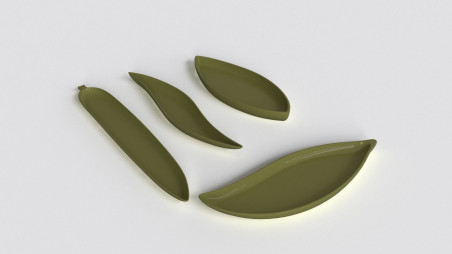 ASA leaf tray collection