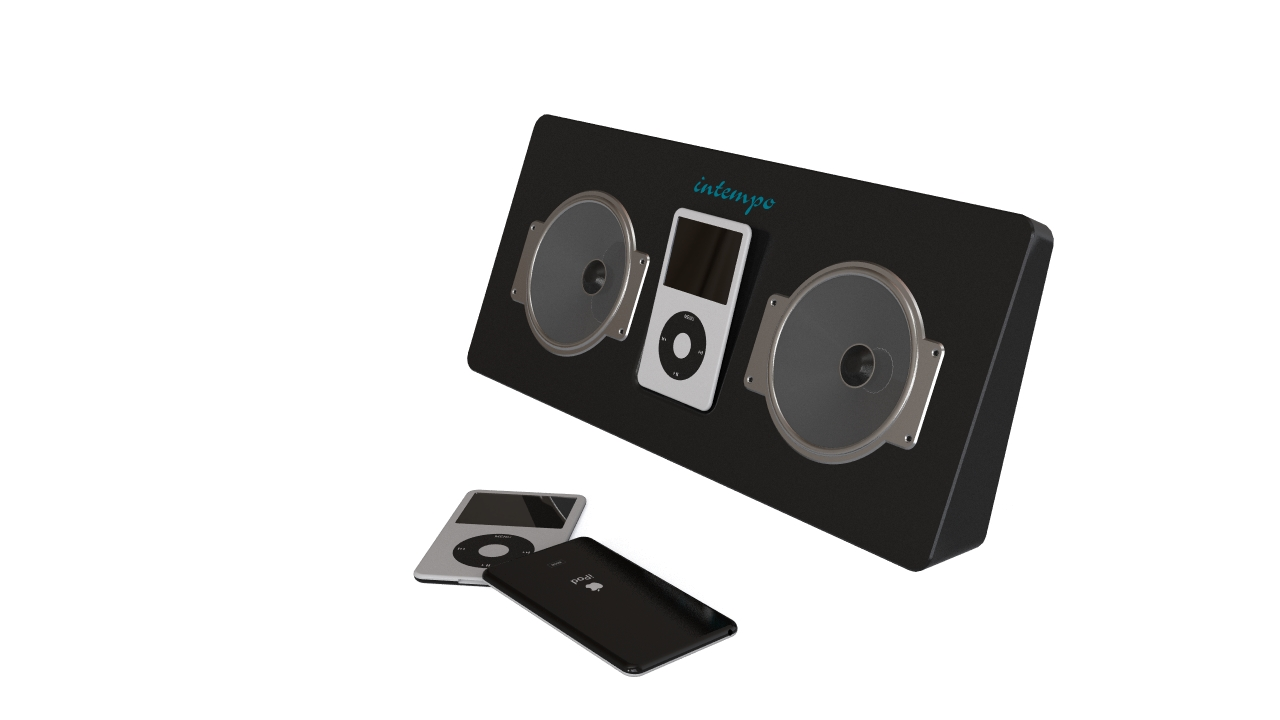 iPod & dock with speakers