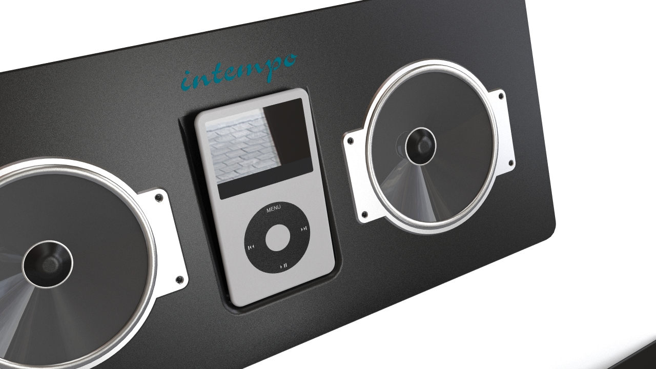 iPod & dock with speakers