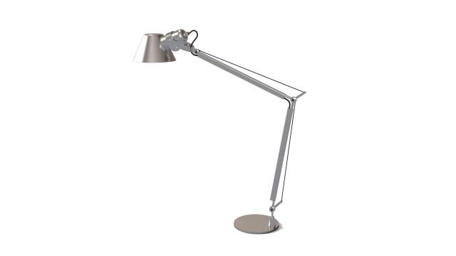 Artemide tolomeo lamp