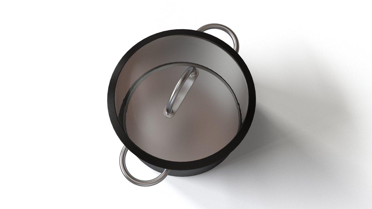 Large kitchen pot | FlyingArchitecture